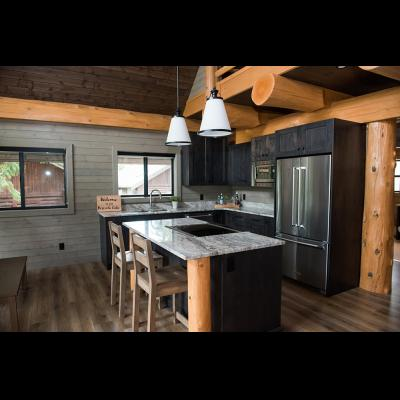 Kitchen area at 3-bedroom cabin